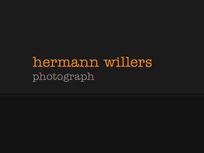 Hermann Willers, Photograph
